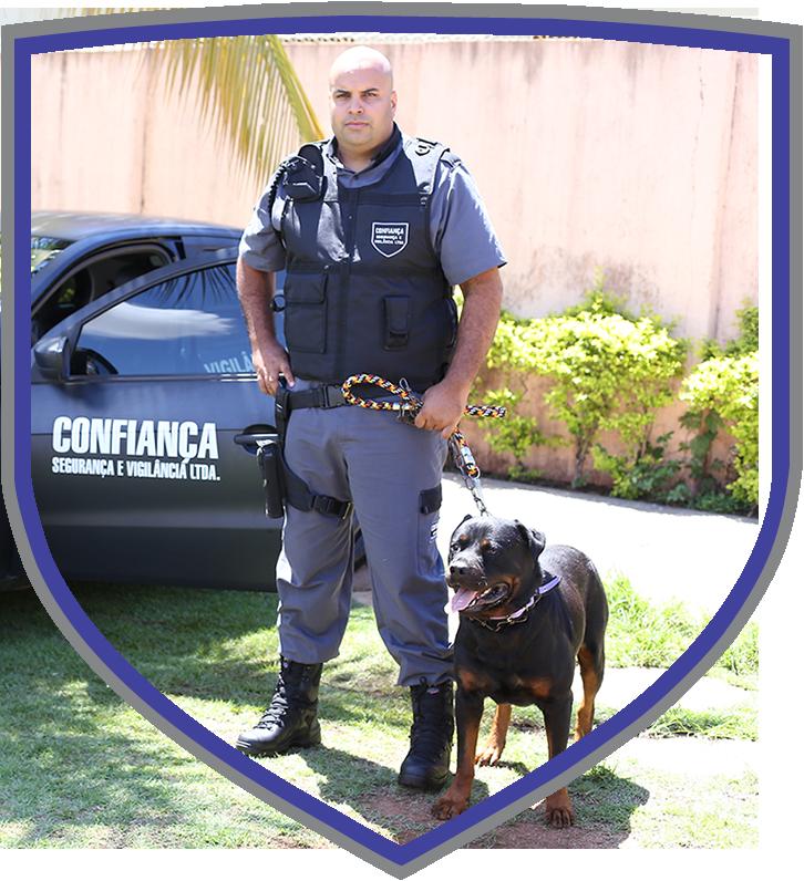 Segurança com uso de Cães de Guarda